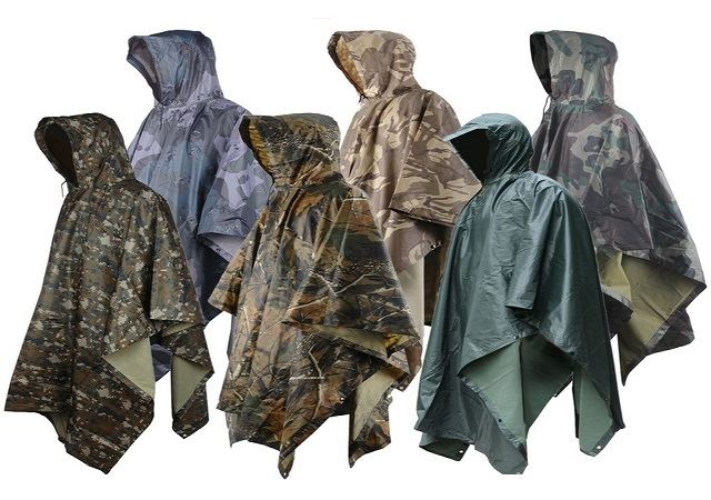 hunting rain gear colors