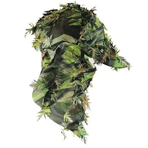 hunting camo face mask camouflage hat hats adjustable cm rear technology