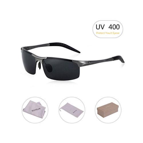 75c24a349ac RAYSUN Men s Sports Style Polarized Sunglasses – 7 layers for Maximum Eye  Protection