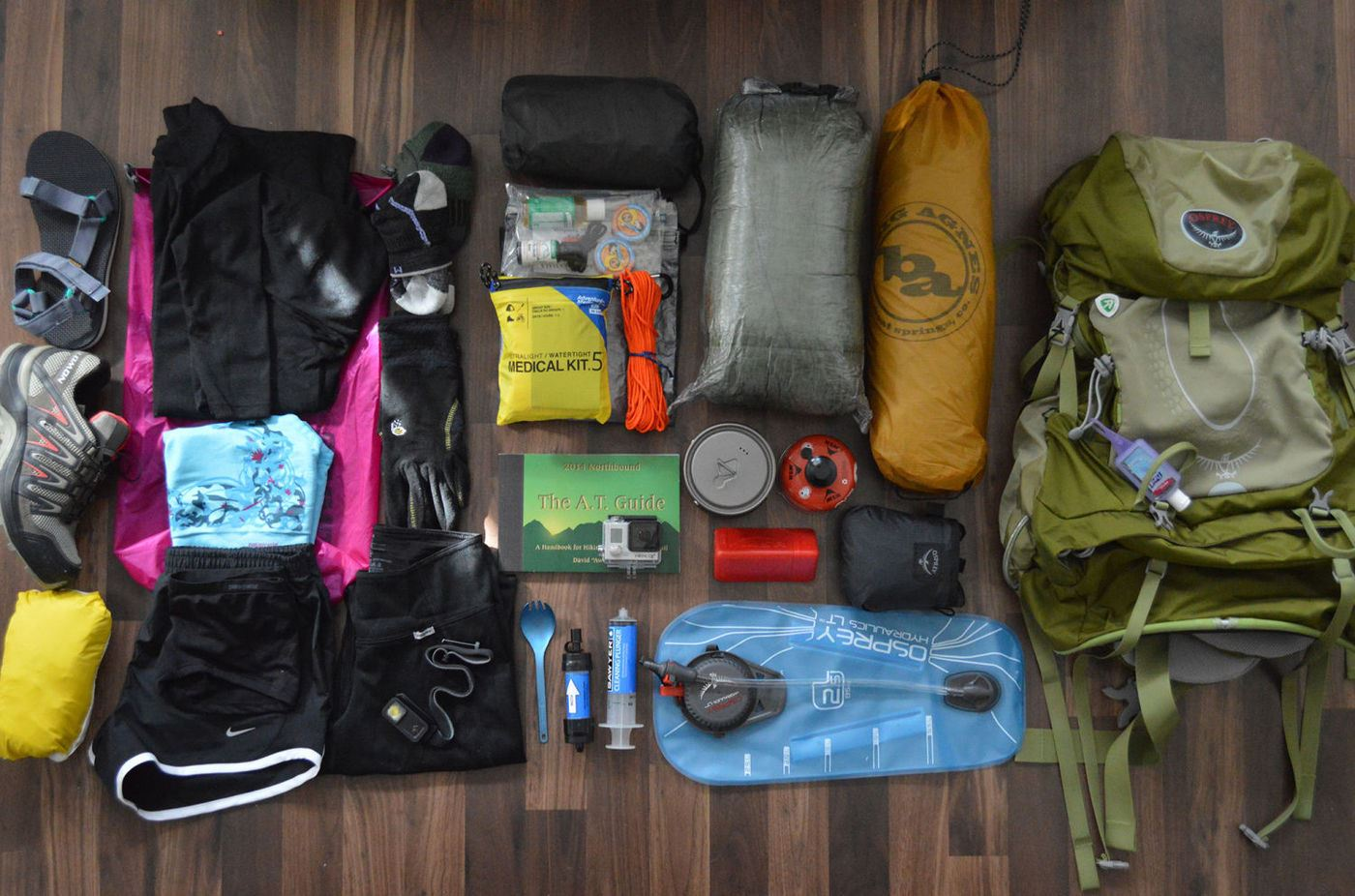 equipment for camping