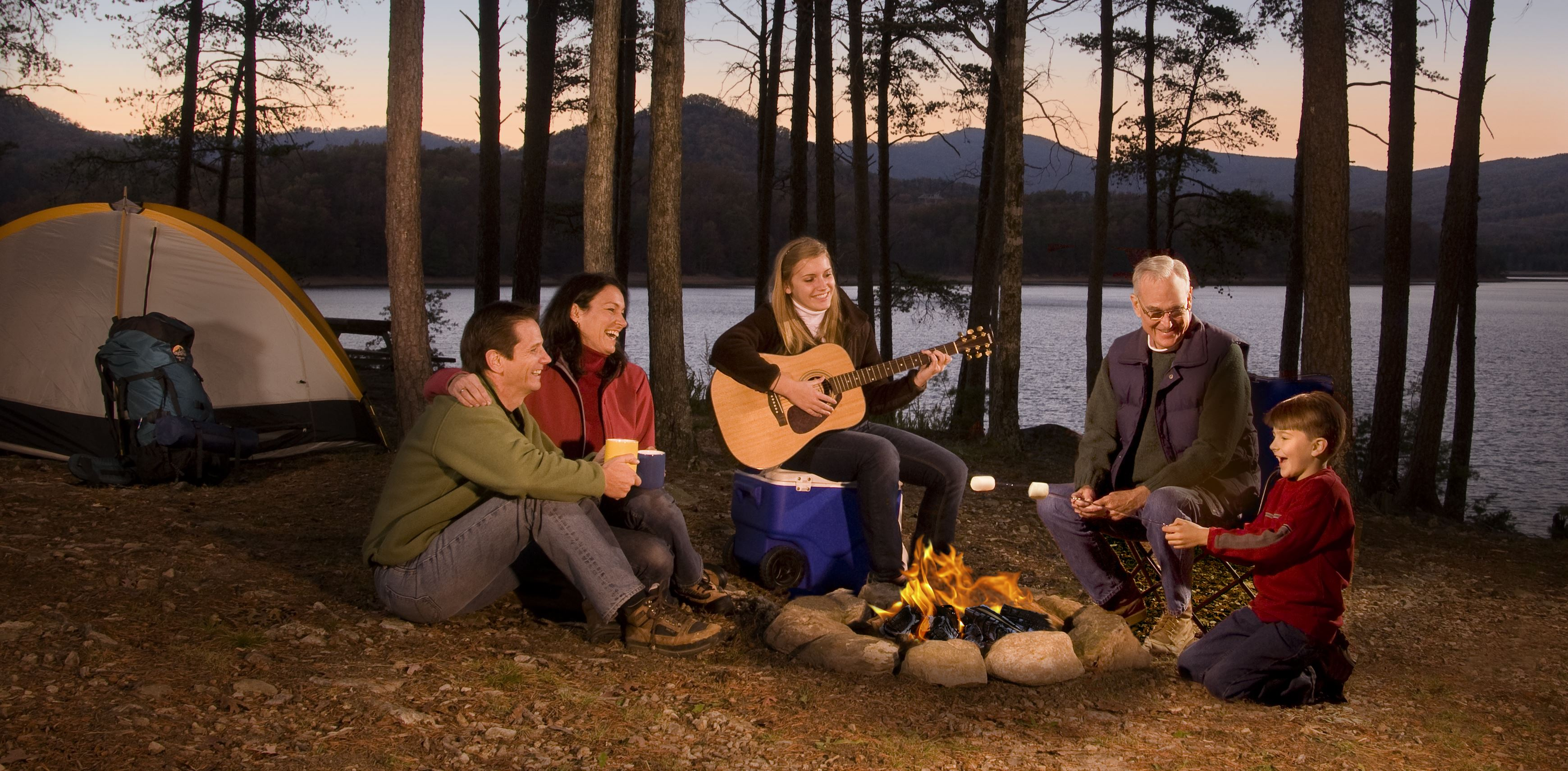 fun and camping
