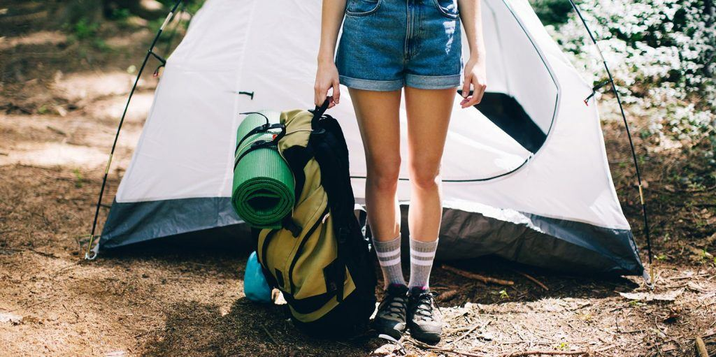 personal gear for camping