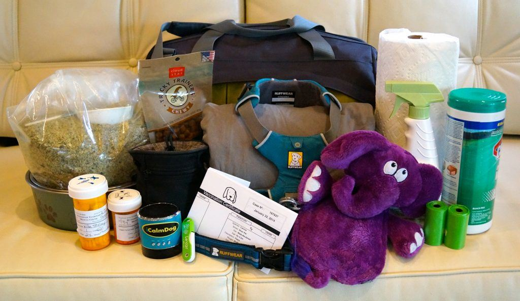 pack for your pet