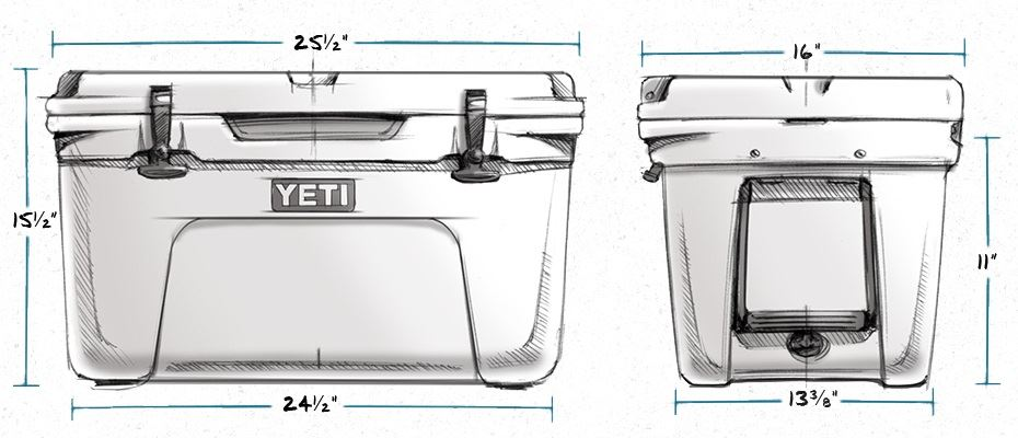 camping cooler sizes