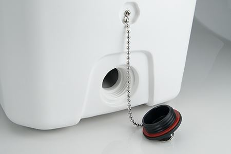 camping coolers drainage