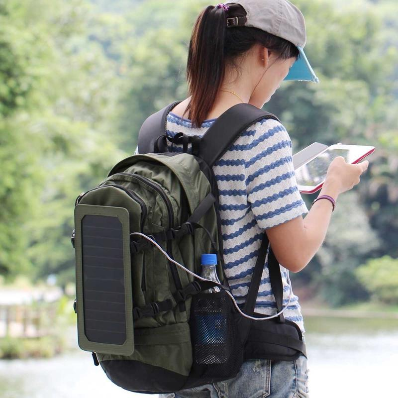 features to consider choosing solar backpacks