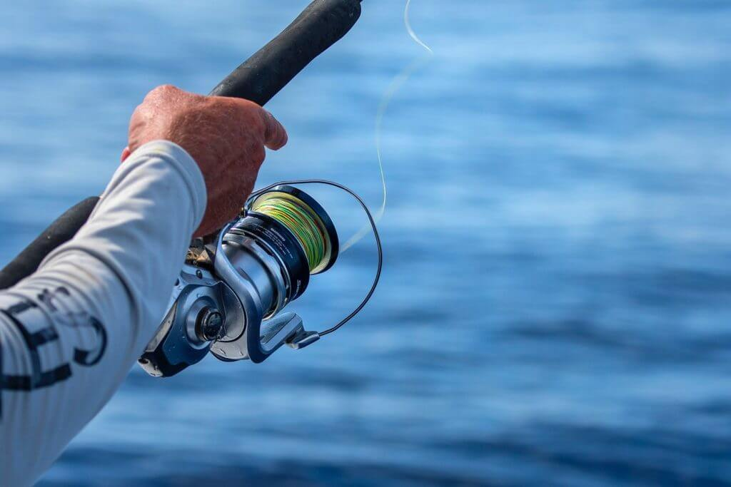 Saltwater Spinning Reel drag