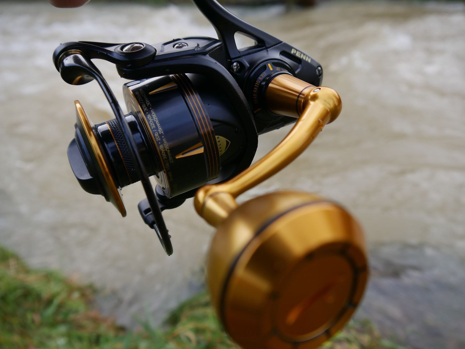 Saltwater Spinning Reel gear ratio and ball bearings
