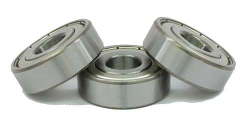 ball bearings of spincast reels