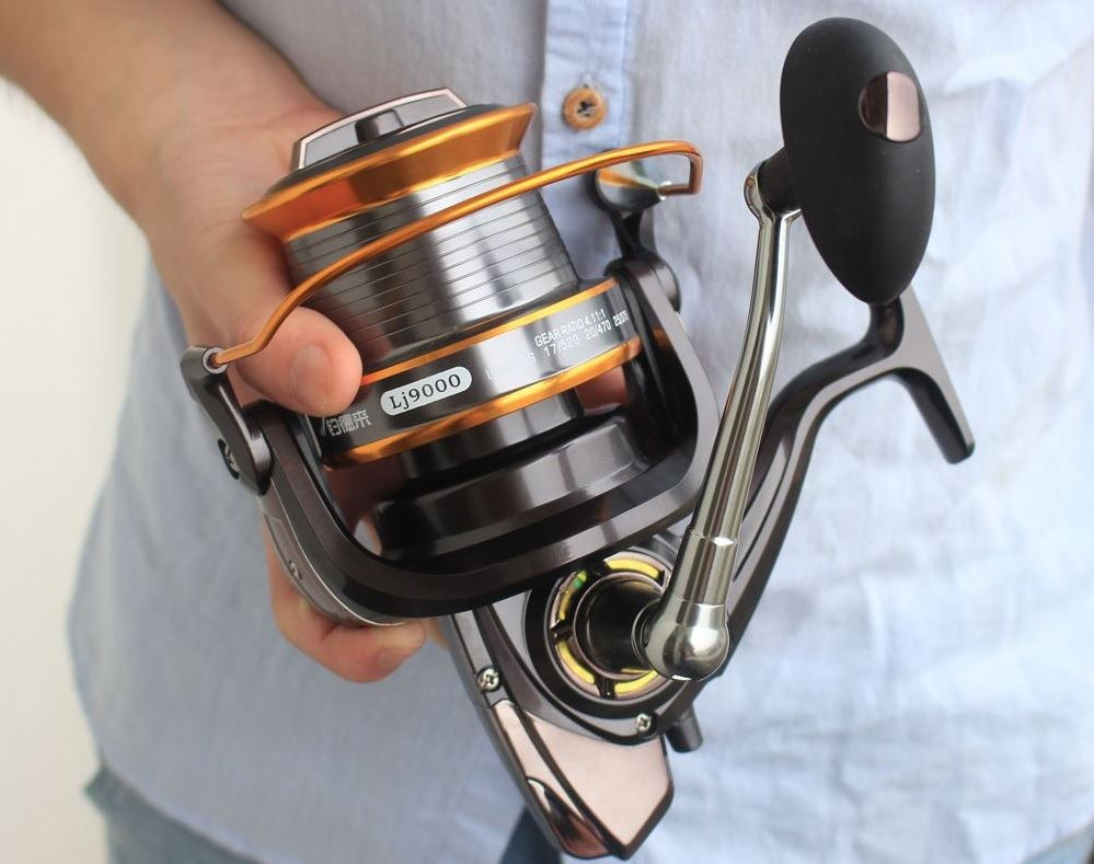 line capacity for spinning reels