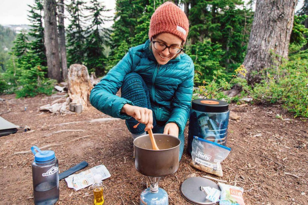 Tips for Food & Water for ultralight backpacking