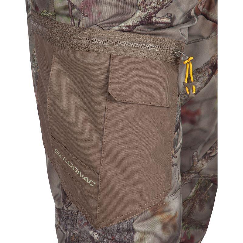 Hunting pants pockets