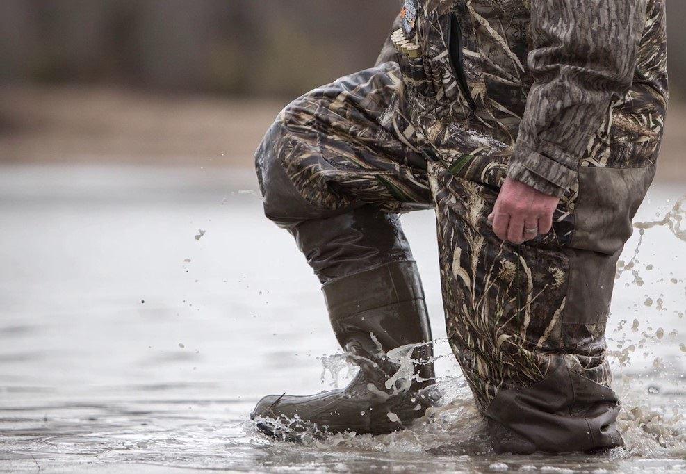 Materials of duck waders