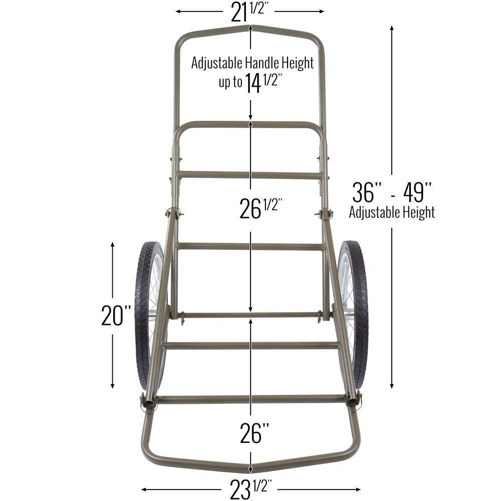 Weight And Construction of a deer cart