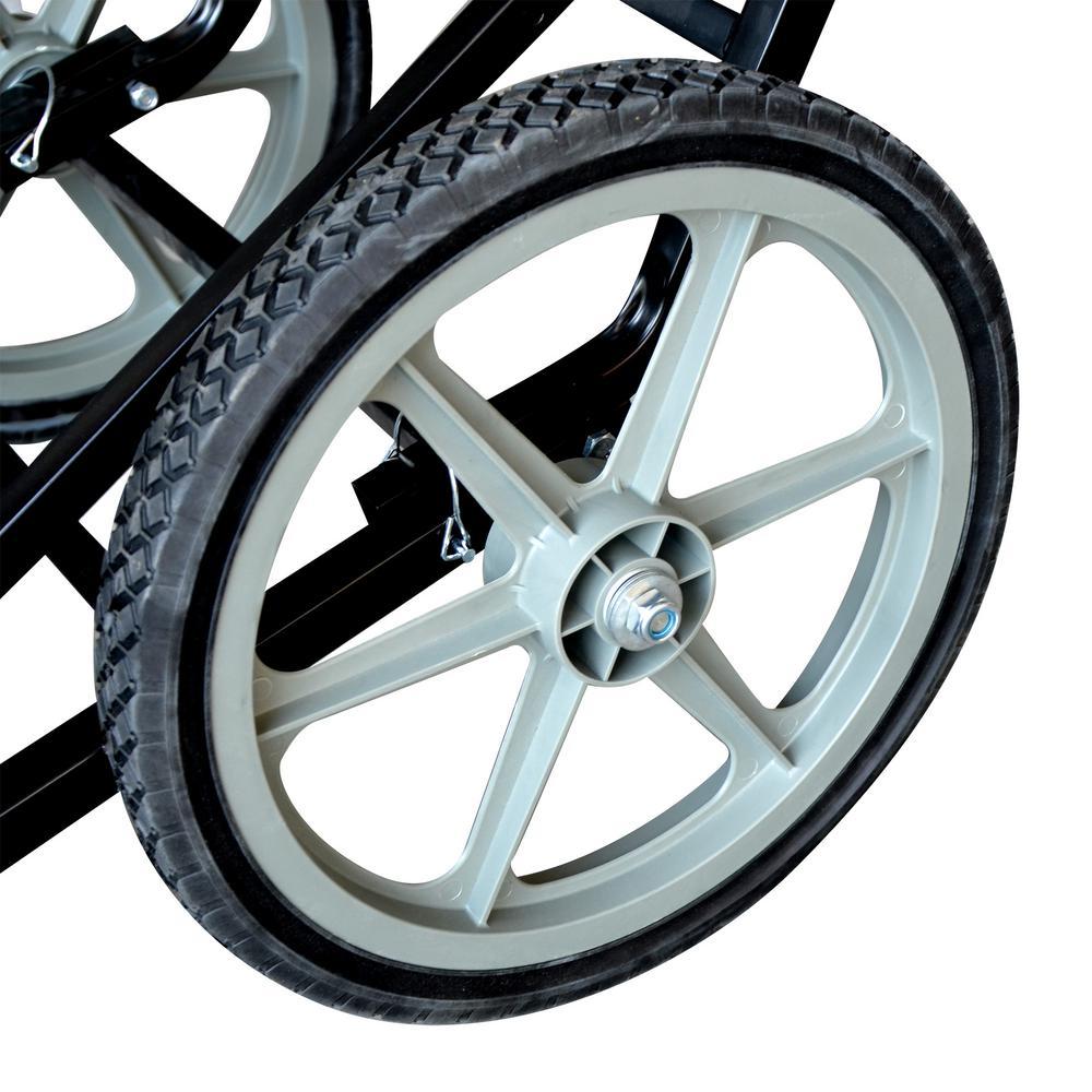 Wheels of a deer cart