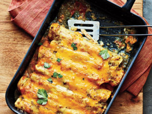 Dutch Oven Enchiladas