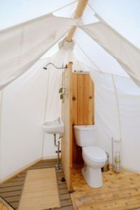 Glamping The Bathroom Concept
